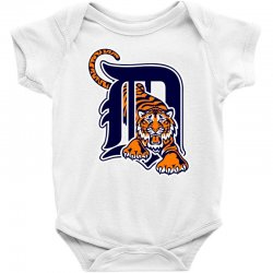 detroit tigers sports baseball Baby Bodysuit | Artistshot