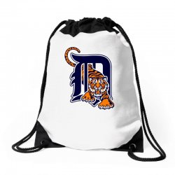 detroit tigers sports baseball Drawstring Bags | Artistshot