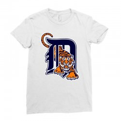 detroit tigers sports baseball Ladies Fitted T-Shirt | Artistshot