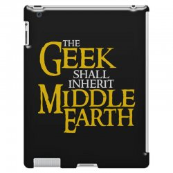 geek shall inherit middle earth iPad 3 and 4 Case | Artistshot