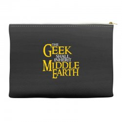 geek shall inherit middle earth Accessory Pouches | Artistshot