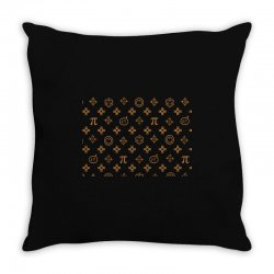 geek chic Throw Pillow | Artistshot