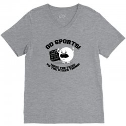 move the thing to the other thing go sports! V-Neck Tee | Artistshot