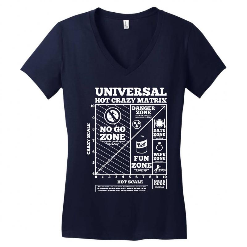 Hot Crazy Matrix Matrix Women's V-neck T-shirt | Artistshot