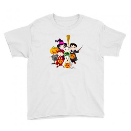 Halloween Youth Tee Designed By Putri