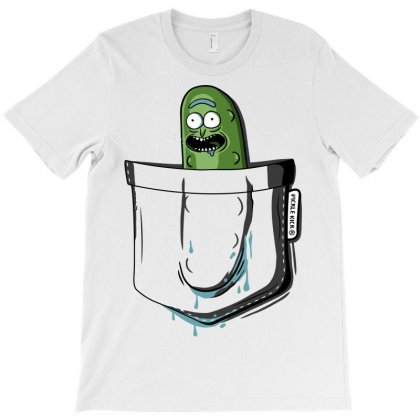 Funny Pocket Pickle Rick T-shirt Designed By Vr46