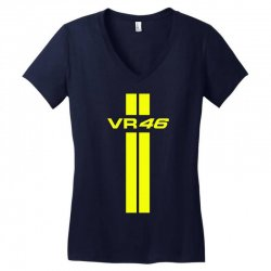 Valentino Rossi Stripes Women's V-Neck T-Shirt | Artistshot