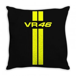 Valentino Rossi Stripes Throw Pillow | Artistshot