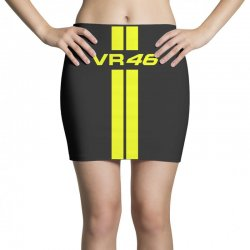 Valentino Rossi Stripes Mini Skirts | Artistshot