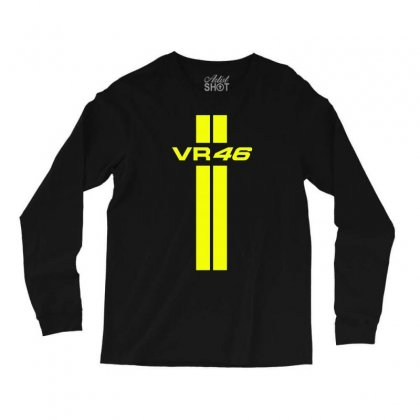 Valentino Rossi Stripes Long Sleeve Shirts Designed By Vr46