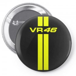 Valentino Rossi Stripes Pin-back button | Artistshot
