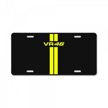 Valentino Rossi Stripes License Plate Designed By Vr46