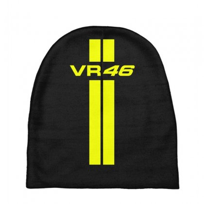 Valentino Rossi Stripes Baby Beanies Designed By Vr46