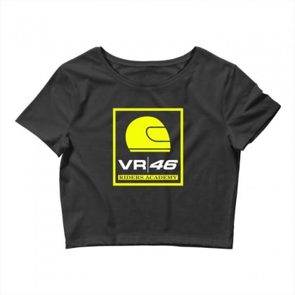 Vr46 Riders Academy Crop Top Designed By Vr46