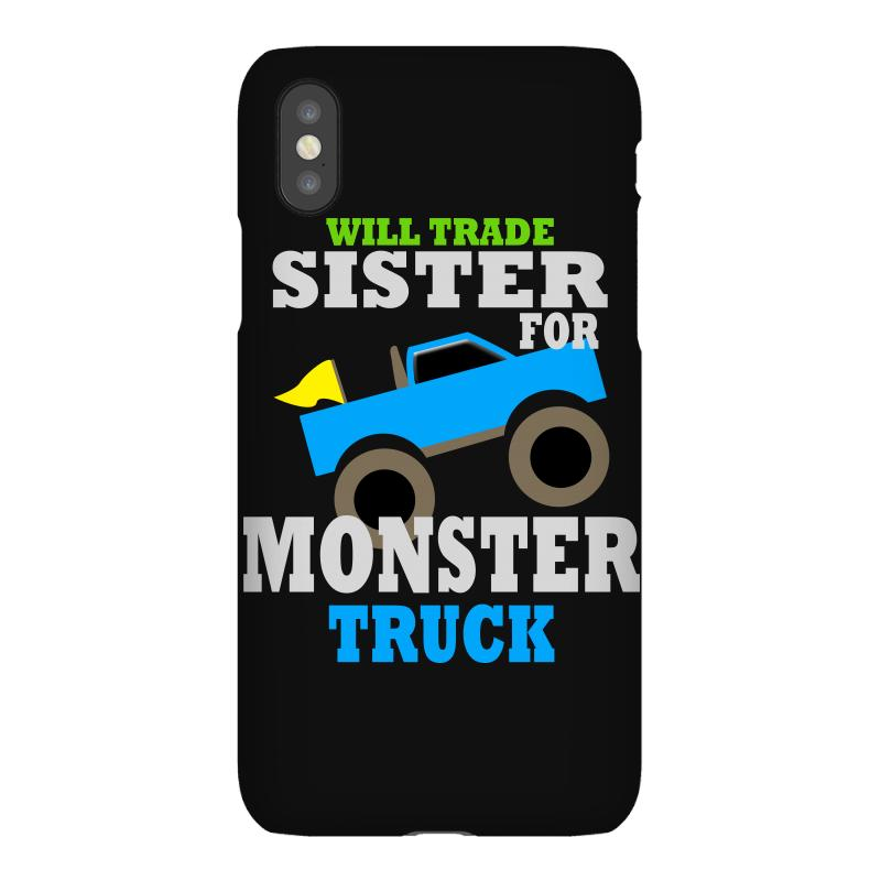 84ad7d5f Custom Monster Truck Shirt For Boys Toddlers Iphonex Case By ...