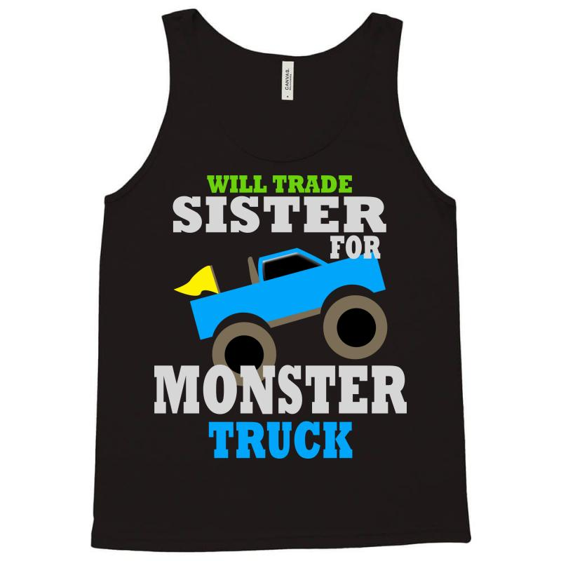 14e1eb83 Custom Monster Truck Shirt For Boys Toddlers Tank Top By Jafarnr1966 ...