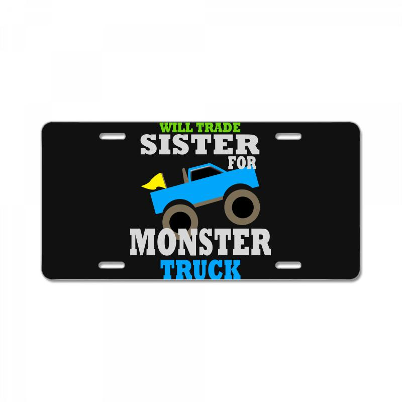 f1b8ea19 Custom Monster Truck Shirt For Boys Toddlers License Plate By ...