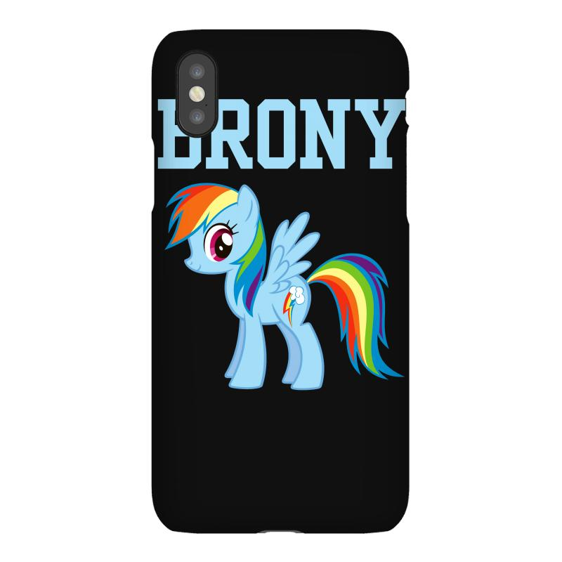 hot sale online 3fec4 fc75a My Little Pony Brony Iphonex Case. By Artistshot