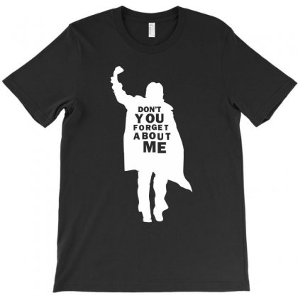 Don't You Forget About Me 80's Party Music Retro T-shirt Designed By Henz Art
