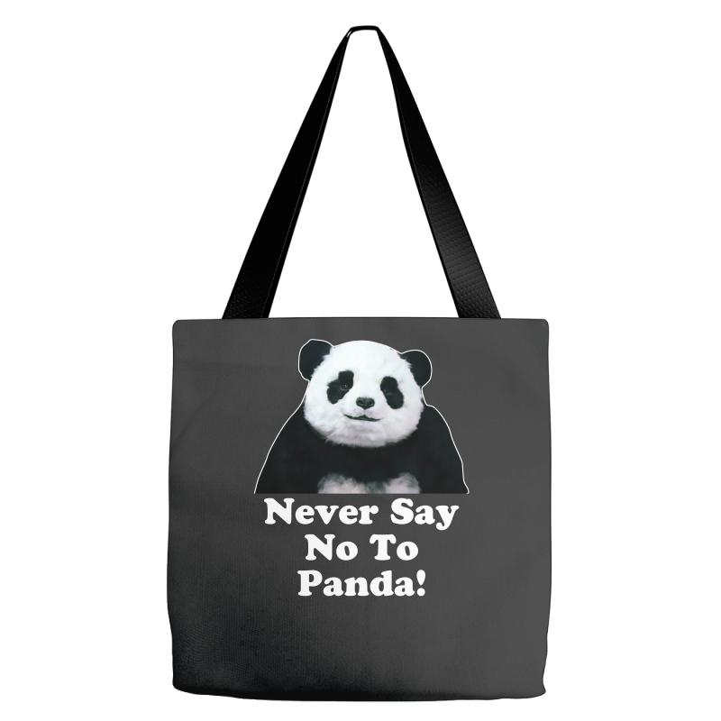 Custom Never Say No To Panda Cheese Commercial Egypt Tote Bags By