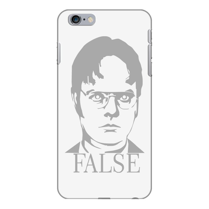 outlet store 2bfae 9bf07 Dwight Schrute 'false' The Office Iphone 6 Plus/6s Plus Case. By Artistshot