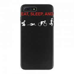 eat, sleep & train triathlon sports, gym, athletic iPhone 7 Plus Case | Artistshot