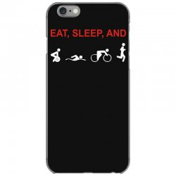 eat, sleep & train triathlon sports, gym, athletic iPhone 6/6s Case | Artistshot