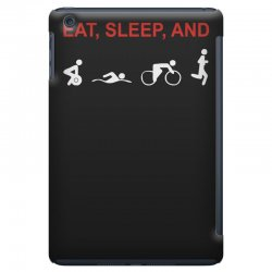 eat, sleep & train triathlon sports, gym, athletic iPad Mini Case | Artistshot
