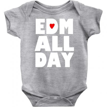 Edm All Day Baby Bodysuit