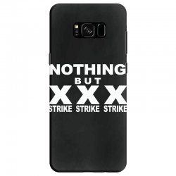 nothing but strikes bowling tee pba sports cool Samsung Galaxy S8 Case | Artistshot