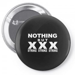 nothing but strikes bowling tee pba sports cool Pin-back button | Artistshot