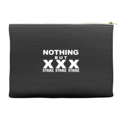 nothing but strikes bowling tee pba sports cool Accessory Pouches | Artistshot
