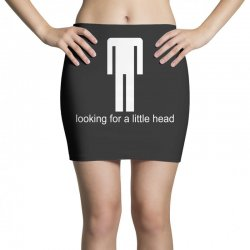 offensive lookng for a little head rude tee Mini Skirts | Artistshot