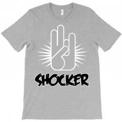 offensive shocker 3 fingers rude tee T-Shirt | Artistshot