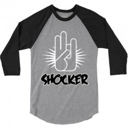 offensive shocker 3 fingers rude tee 3/4 Sleeve Shirt | Artistshot