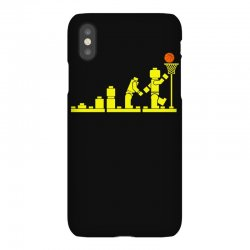 evolution lego basketball sports funny iPhoneX Case | Artistshot