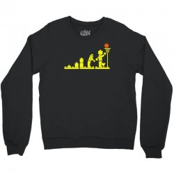 evolution lego basketball sports funny Crewneck Sweatshirt | Artistshot