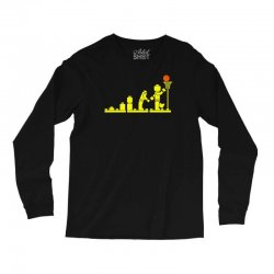 evolution lego basketball sports funny Long Sleeve Shirts | Artistshot