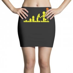 evolution lego basketball sports funny Mini Skirts | Artistshot