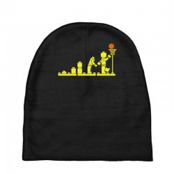 evolution lego basketball sports funny Baby Beanies | Artistshot