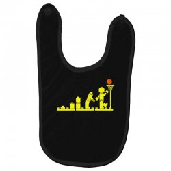 evolution lego basketball sports funny Baby Bibs | Artistshot