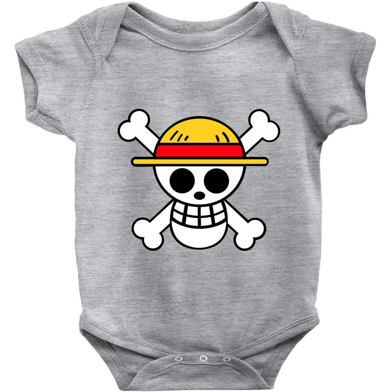 Custom One Piece Anime Baby Bodysuit By Jafarnr1966 Artistshot
