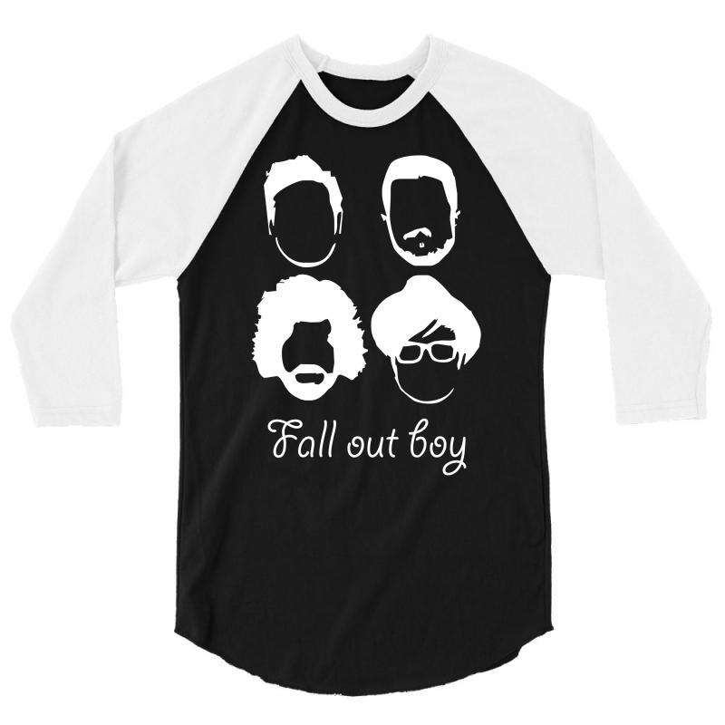 """FALL OUT BOY /""""SILHOUETTE FACES/"""" HOODIE NEW"""