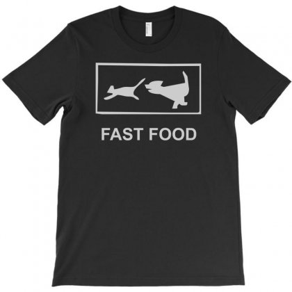 Fast Food Funny T-shirt Designed By Henz Art
