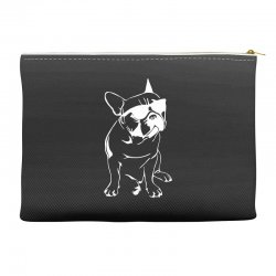 french bulldog sunglasses dog cat cute puppy animal gift tee Accessory Pouches   Artistshot