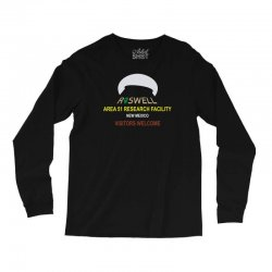 funny alien conspiracy theory roswell area 51 Long Sleeve Shirts | Artistshot