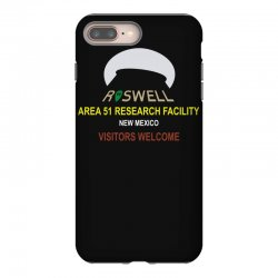 funny alien conspiracy theory roswell area 51 iPhone 8 Plus Case | Artistshot