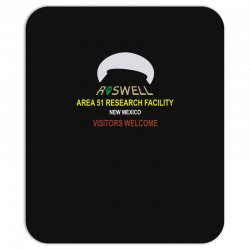 funny alien conspiracy theory roswell area 51 Mousepad | Artistshot