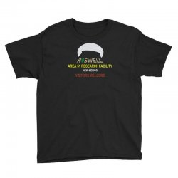 funny alien conspiracy theory roswell area 51 Youth Tee | Artistshot