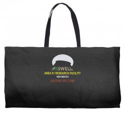 funny alien conspiracy theory roswell area 51 Weekender Totes | Artistshot